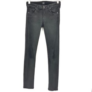 Citizens Of Humanity Wax Jeggings Jeans Black